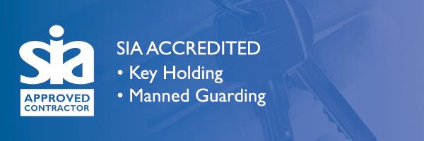 sia accreditation, key holding, uk, manned guarding